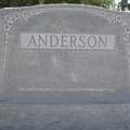 Anderson, (family marker)