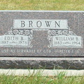 Brown, William & Edith Christopher Rosedale Dem Doniph