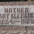 Allbaugh Mary