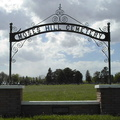 Moses Hill Cemetery entrance gate