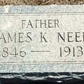 Neel, James K husband of Hattie father of Mary Belle Fitch Lyons NE C